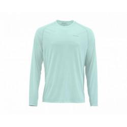 Tee-shirt solarflex crewneck solids simms wintergreen