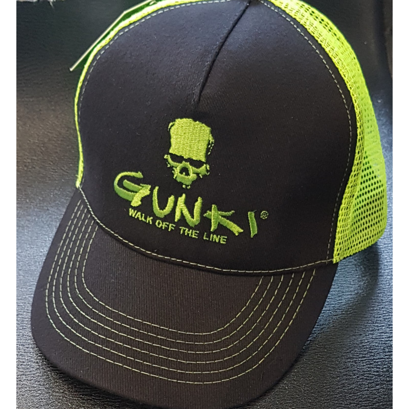 casquette trucker black gunki