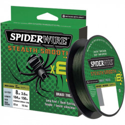 Tresse Spiderwire Stealth Smooth 8 Vert 150M