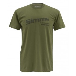 tee-shirt simms working waders olive